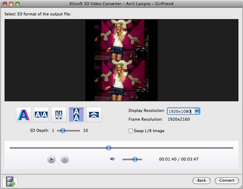 3D動画変換 for Mac,3D動画変換ソフト