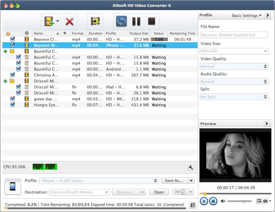 Xilisoft 動画変換 HDエディション for Mac