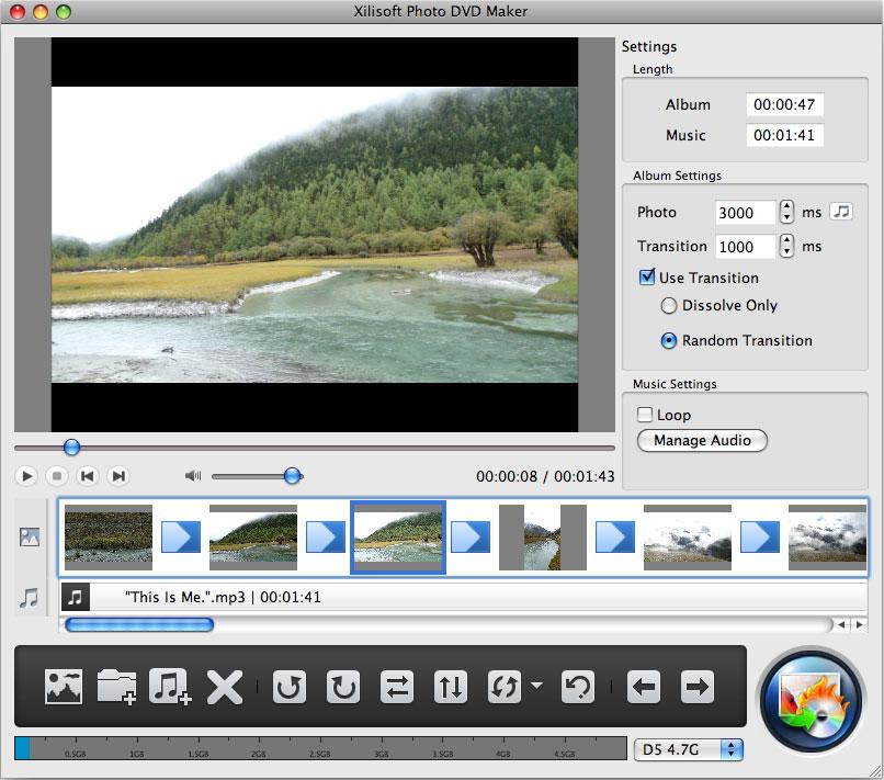 スライドショー DVD for mac、写真 スライドショー DVD、画像 スライドショー DVD、スライドショー Mac用アプリ